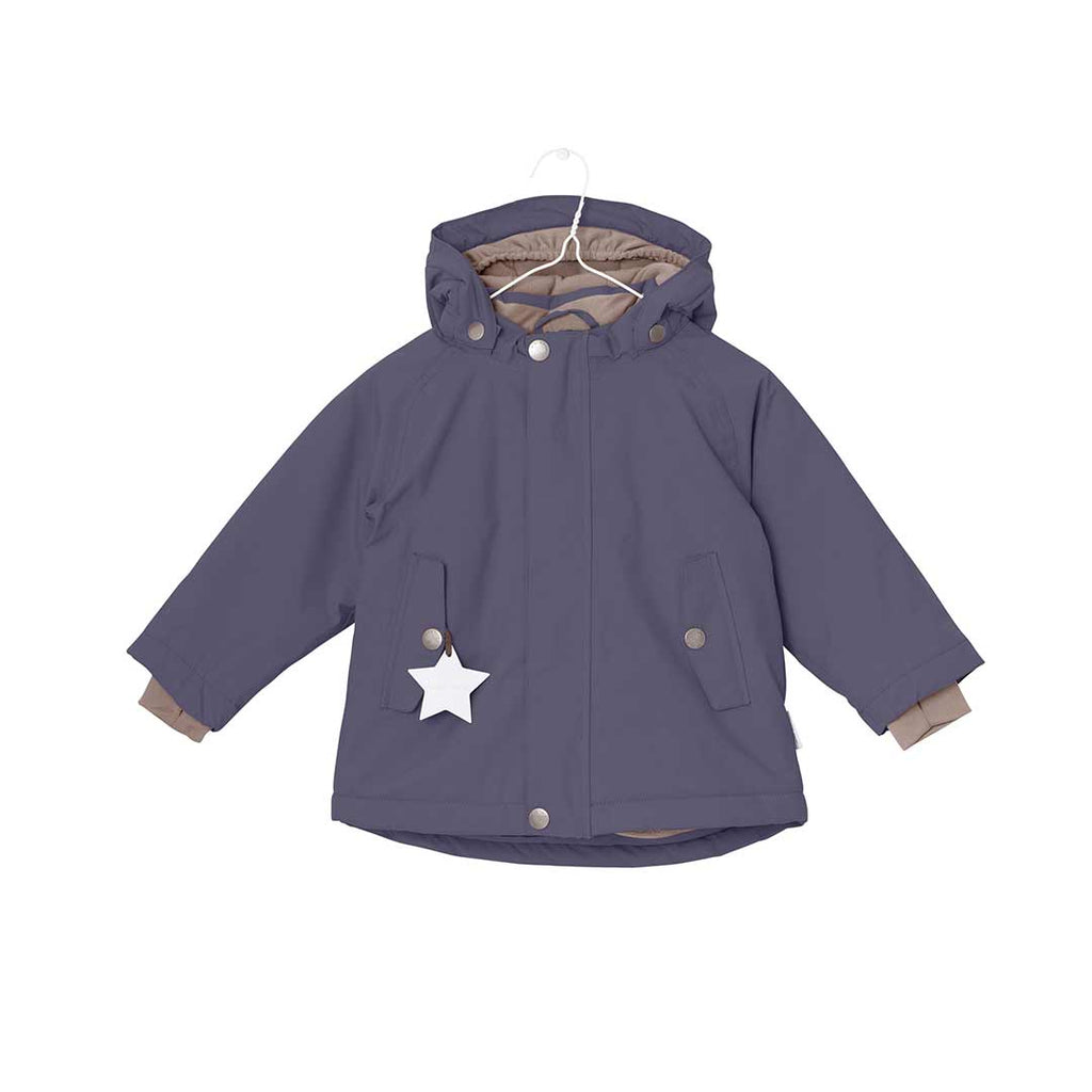 890aae61 MINI A TURE Wally Jacket - Blue Nights-Coats & Snowsuits- Natural Baby  Shower ...