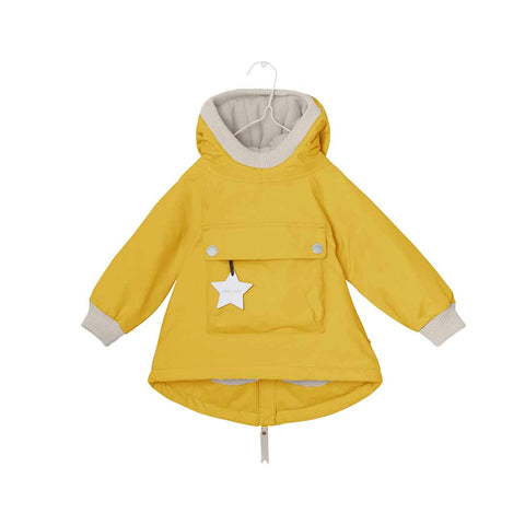 MINI A TURE Baby Wen Jacket - Bamboo Yellow-Coats & Snowsuits- Natural Baby Shower