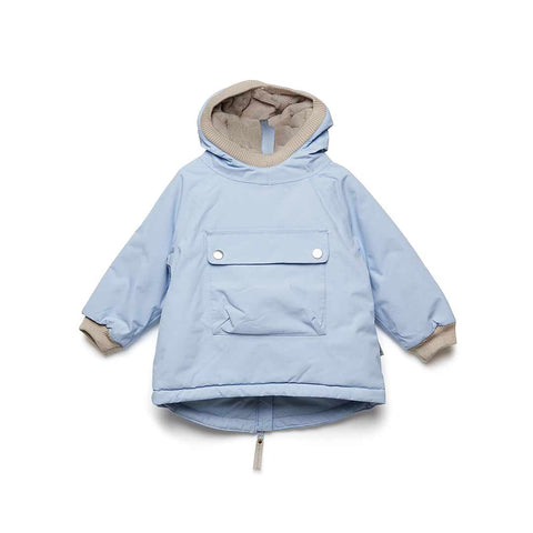 MINI A TURE Baby Wen Jacket - Cashmere Blue-Coats & Snowsuits- Natural Baby Shower