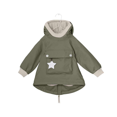 MINI A TURE Baby Wen Jacket - Clover Green-Coats & Snowsuits- Natural Baby Shower