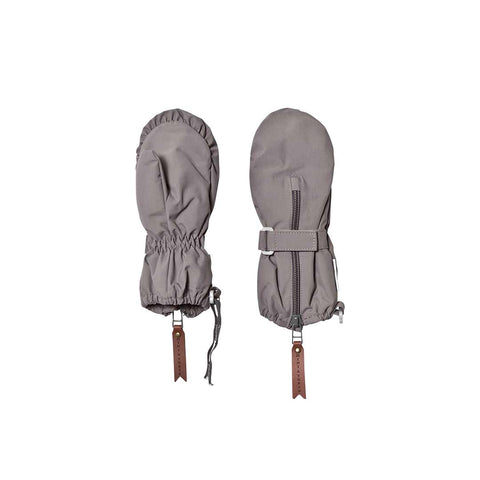 MINI A TURE Cesar Gloves - Steel Grey-Gloves & Mittens- Natural Baby Shower