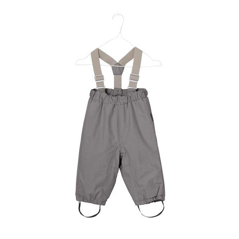 MINI A TURE Wilas Ski Bottoms - Steel Grey-Pants- Natural Baby Shower