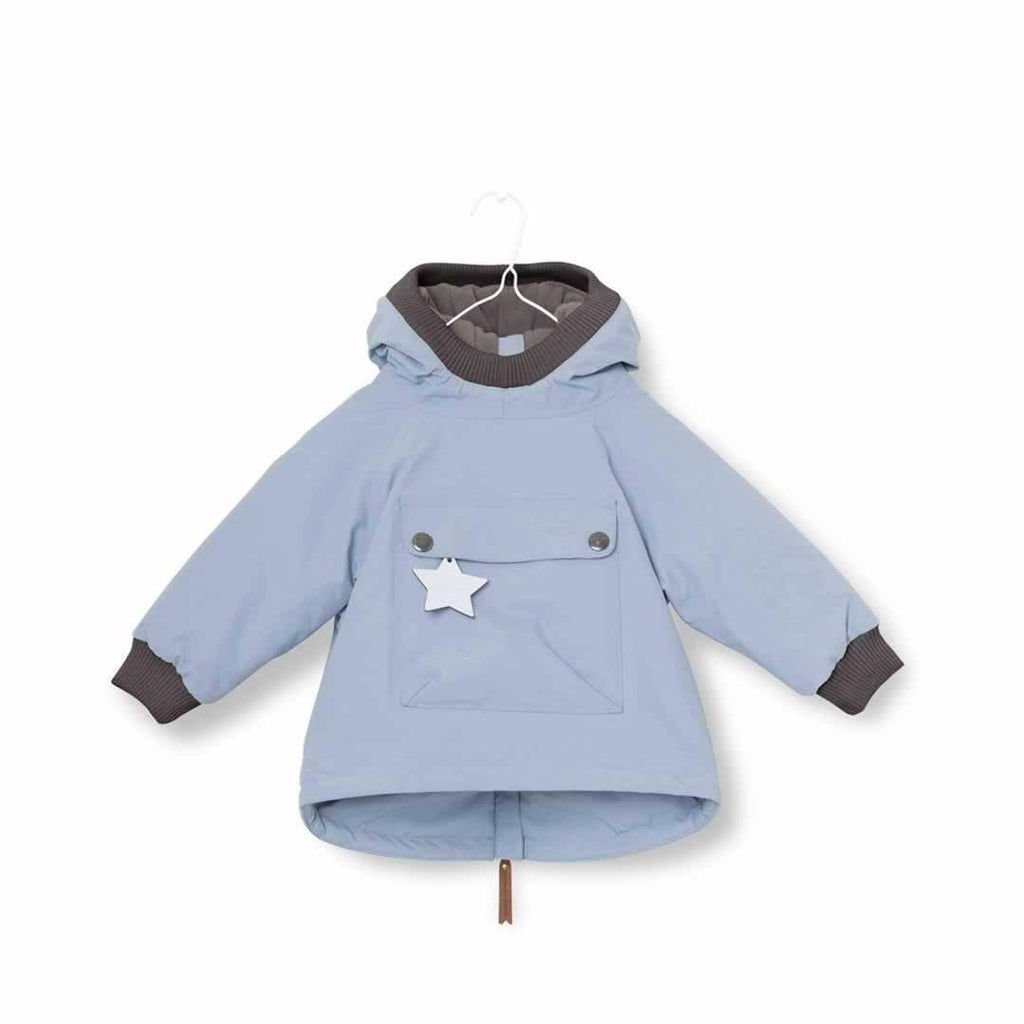 MINI A TURE Baby Wen Jacket - Ashley Blue-Coats & Snowsuits- Natural Baby Shower