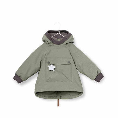 MINI A TURE - Baby Wen Jacket Deep Green