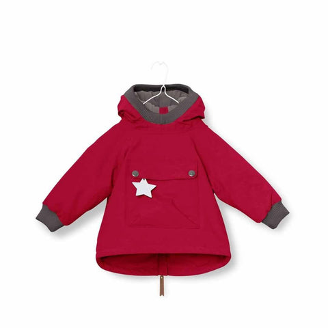 MINI A TURE - Baby Wen Jacket - Haute Red - Coats & Snowsuits - Natural Baby Shower