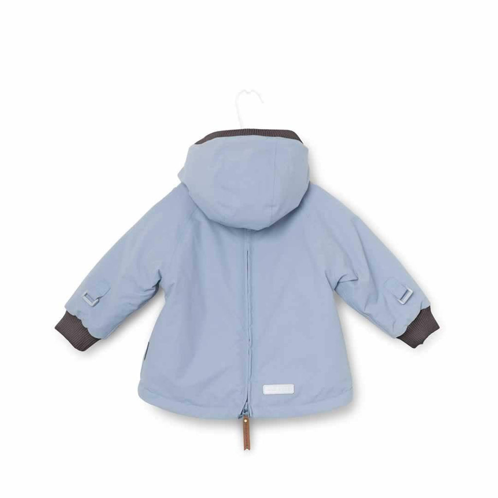 MINI A TURE - Baby Wen Jacket - Ashley Blue-Coats & Snowsuits- Natural Baby Shower
