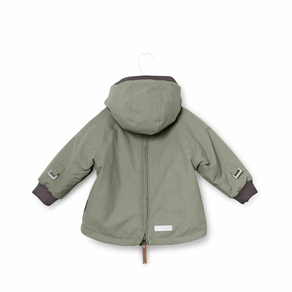 MINI A TURE - Baby Wen Jacket - Deep Green-Coats & Snowsuits- Natural Baby Shower