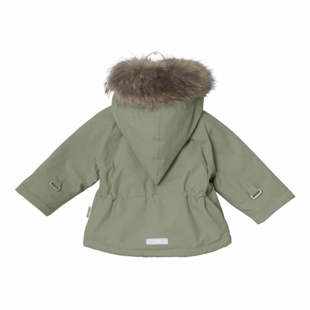 MINI A TURE - Wang Fur Jacket Deep Green