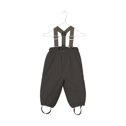 MINI A TURE - Wilas Trousers - Shale - Bottoms - Natural Baby Shower