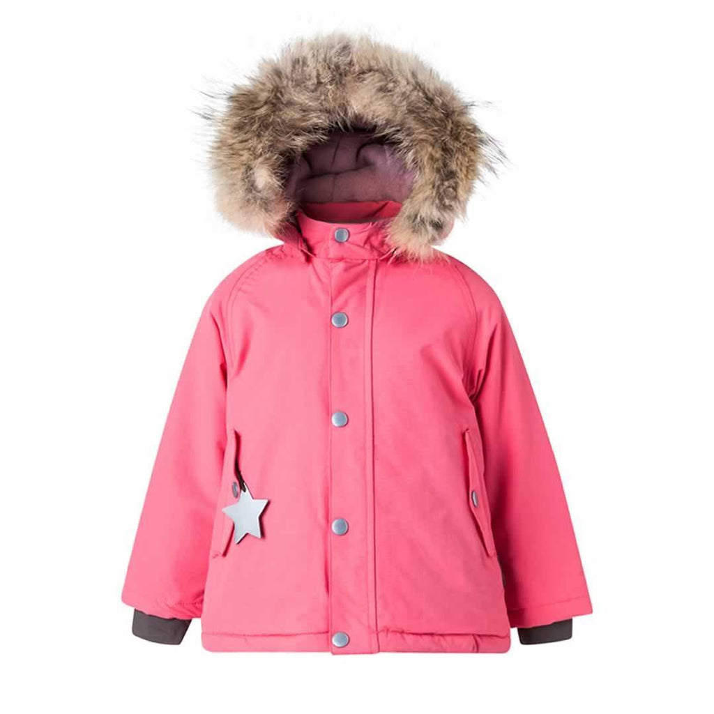 MINI A TURE Wally Fur Jacket Rapture Rose