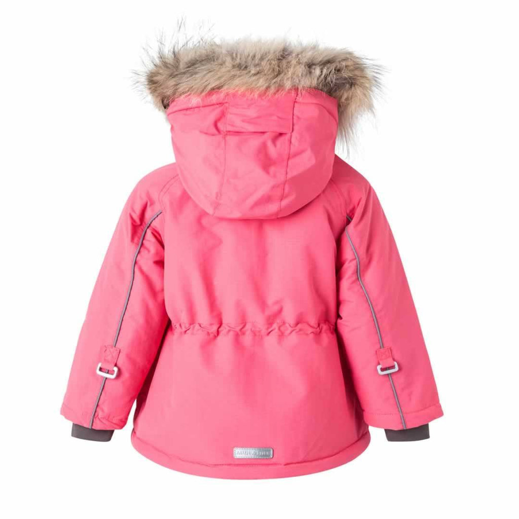 MINI A TURE Wally Fur Jacket - Rapture Rose - Coats & Snowsuits - Natural Baby Shower