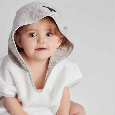 MORI Animal Hooded Poncho Towel - Kangaroo-Towels & Robes-Kangaroo-12-36m- Natural Baby Shower