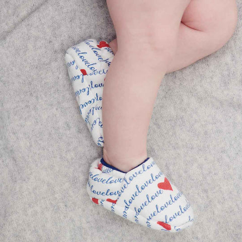 MORI Baby Booties - Loves-Booties- Natural Baby Shower