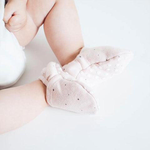 MORI Baby Booties - Stardust-Booties- Natural Baby Shower