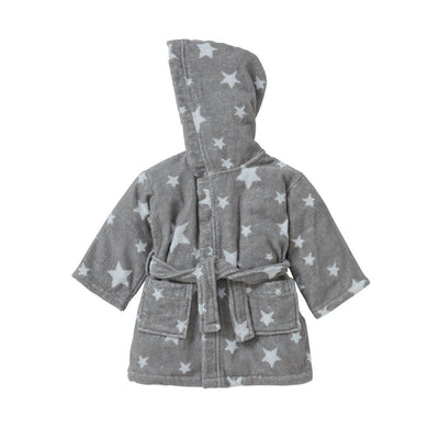 MORI Bath Robe - Starry-Towels & Robes- Natural Baby Shower