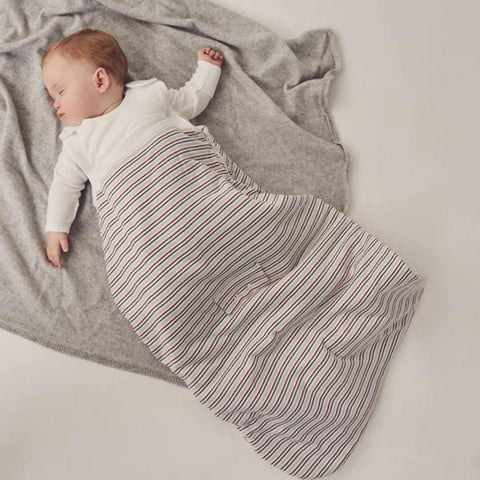 MORI Clever Sleeping Bag 2.5 TOG - Seasonal Stripe-Sleeping Bags-0-24m-Seasonal Stripe- Natural Baby Shower