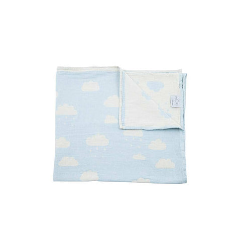 MORI Cloud Throw - Blue