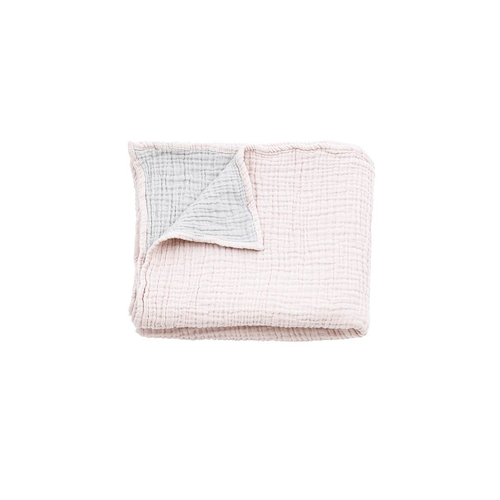 MORI Cuddle Blanket - Blush-Blankets- Natural Baby Shower