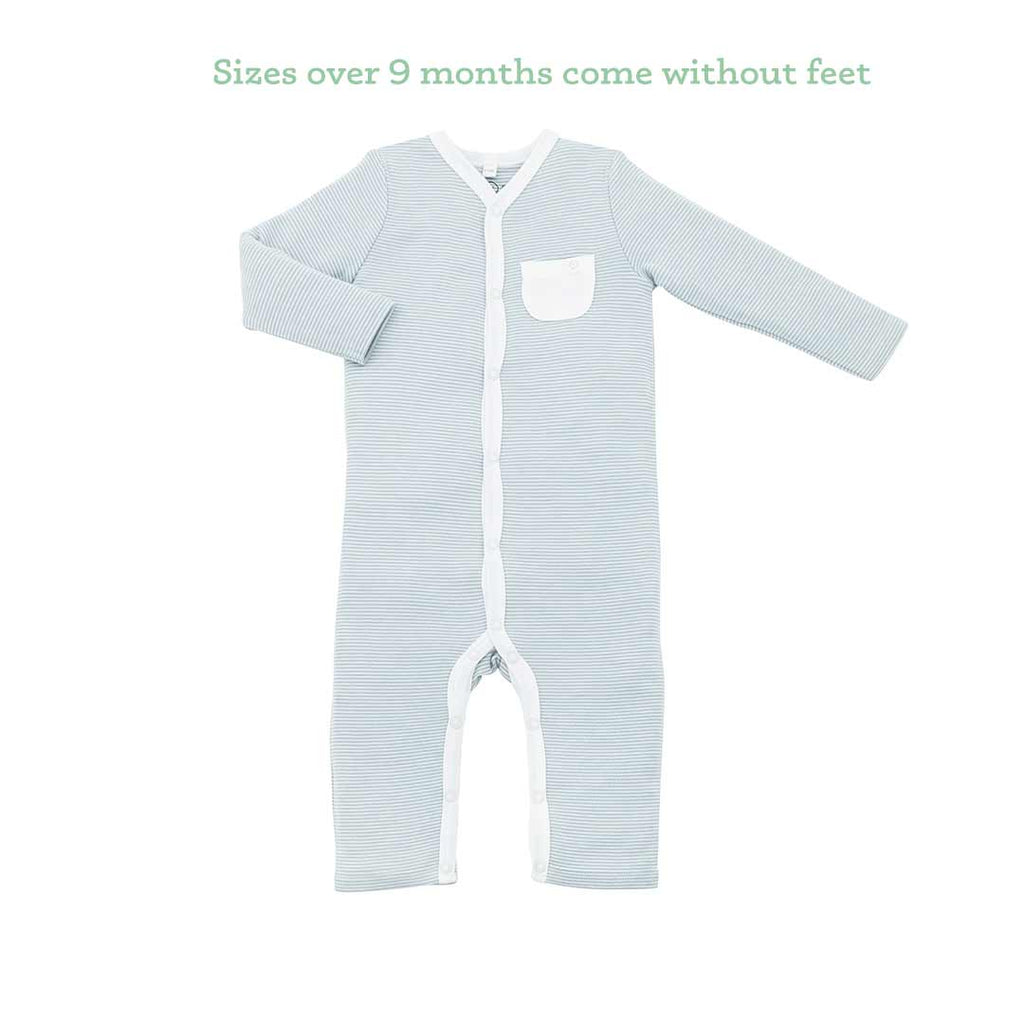 d051e9f42 MORI Front Opening Sleepsuit in Blue – Natural Baby Shower