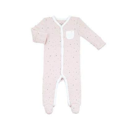 MORI Front Opening Sleepsuit - Stardust-Sleepsuits- Natural Baby Shower