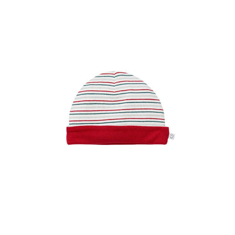 MORI Hat - Seasonal Stripe-Hats- Natural Baby Shower