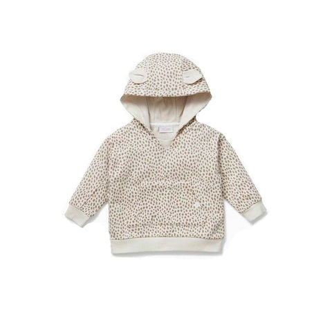 MORI Hooded Sweatshirt - Wild Print-Hoodies- Natural Baby Shower