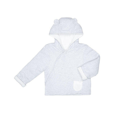 MORI Kimono Coat - Grey-Coats & Snowsuits- Natural Baby Shower
