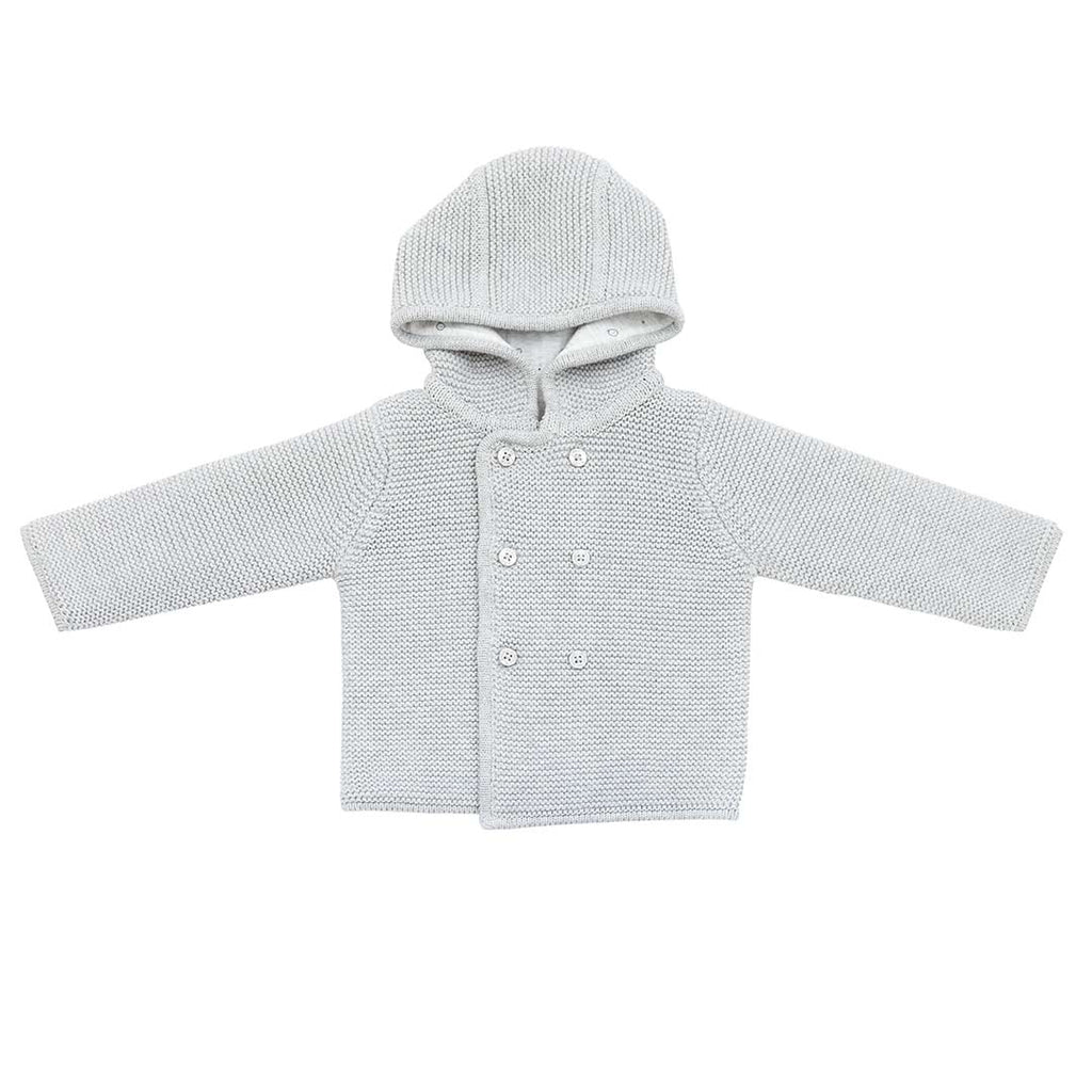 3c68788c4 MORI Knitted Coat in Lamb Grey – Natural Baby Shower