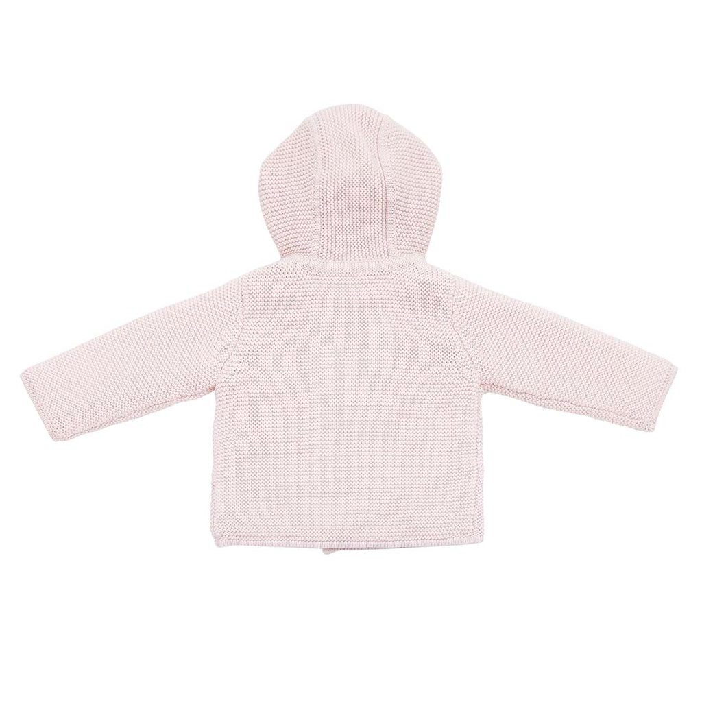 a9fbe8fab MORI Knitted Coat in Newborn Pink – Natural Baby Shower