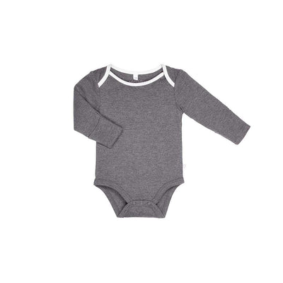 MORI Long Sleeve Bodysuit - Lunar-Bodysuits- Natural Baby Shower