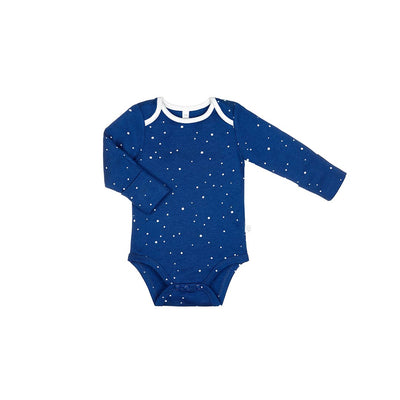 MORI Long Sleeve Bodysuit - Night Sky-Bodysuits- Natural Baby Shower