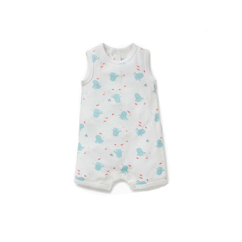 MORI Octopus Romper-Rompers- Natural Baby Shower