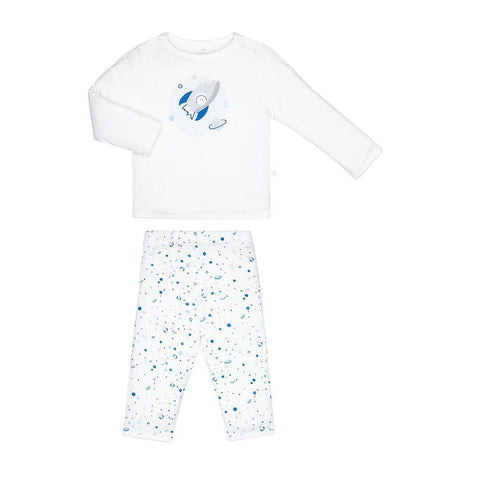 MORI PJ's - Space-Pyjamas- Natural Baby Shower