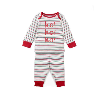 MORI Pyjamas - Seasonal Stripe-Pyjamas- Natural Baby Shower