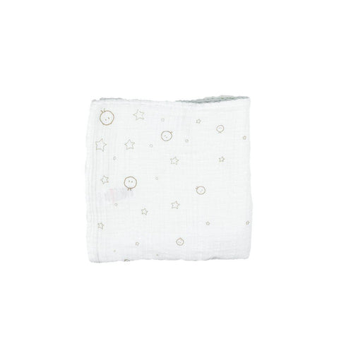 MORI Regular Muslin - White-Muslin Squares- Natural Baby Shower