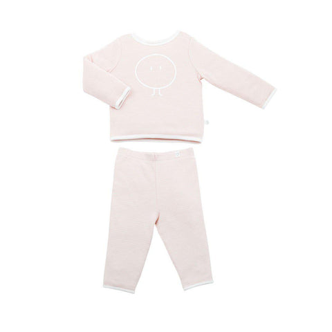 MORI Snoozy PJ's - Blush-Pyjamas- Natural Baby Shower