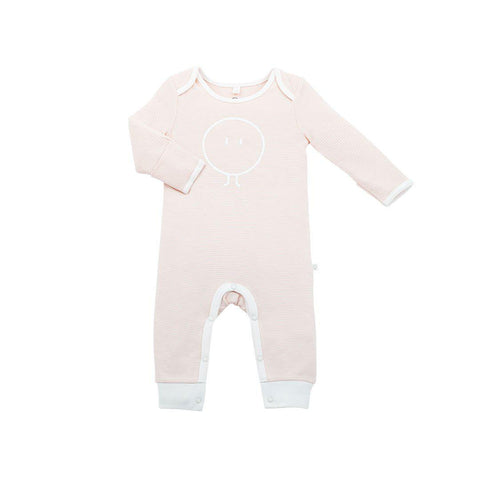 MORI Snoozy Sleepsuit - Blush-Sleepsuits- Natural Baby Shower