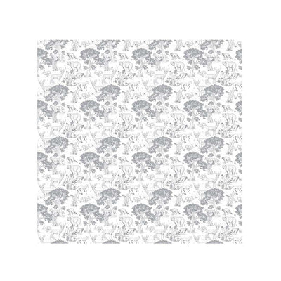 Mabel + Fox Splash Mat - Woodland Animals-Kitchen Accessories- Natural Baby Shower
