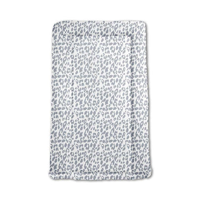 Mabel + Fox Table Changing Mat - Grey Leopard-Changing Mats & Covers- Natural Baby Shower