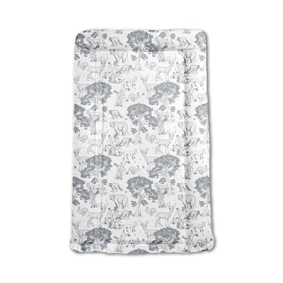 Mabel + Fox Table Changing Mat - Woodland Animals-Changing Mats & Covers- Natural Baby Shower