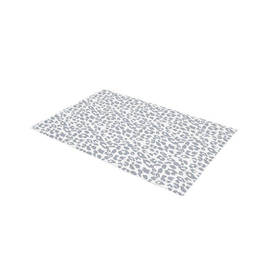 Mabel + Fox Travel Changing Mat - Grey Leopard-Changing Mats & Covers- Natural Baby Shower