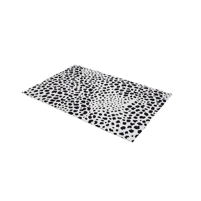 Mabel + Fox Travel Changing Mat - Monochrome Animal-Changing Mats- Natural Baby Shower