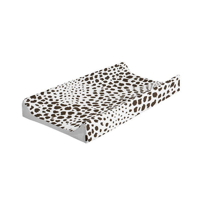 Mabel + Fox Wedge Changing Mat - Monochrome Animal-Changing Mats & Covers- Natural Baby Shower