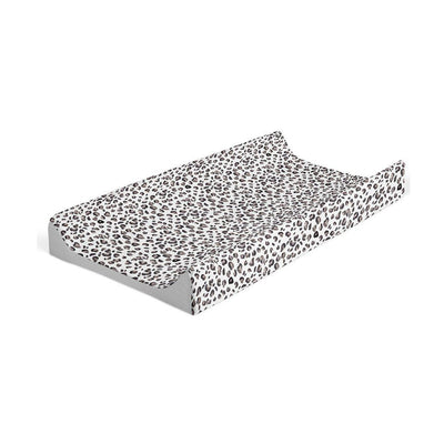 Mabel + Fox Wedge Changing Mat - Grey Black Leopard-Changing Mats & Covers- Natural Baby Shower