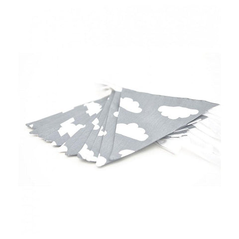 Mama Designs Bunting - Grey Cloud