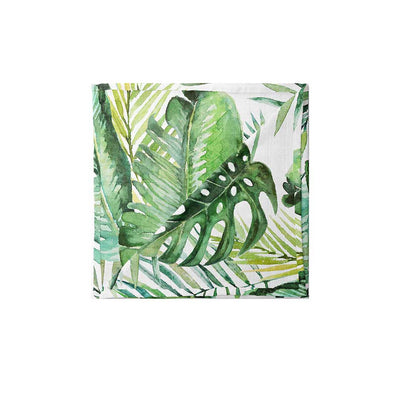 Mama Shack XL Muslin - Banana Leaf-Muslin Squares- Natural Baby Shower