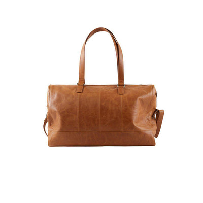 Mamalicious Changing Bag - Leather Cognac-Changing Bags- Natural Baby Shower