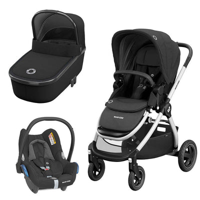 Maxi-Cosi Adorra Travel System - Essential Black-Travel Systems- Natural Baby Shower