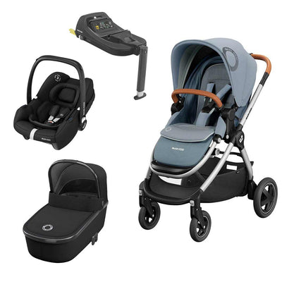Maxi-Cosi Adorra2 Travel System - Essential Grey-Travel Systems- Natural Baby Shower