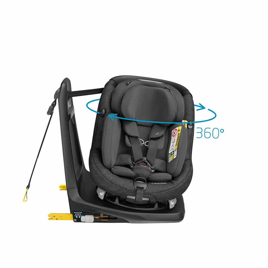 Maxi-Cosi AxissFix Plus Car Seat - Nomad Black-Car Seats- Natural Baby Shower
